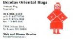 Bendas Oriental Rugs
