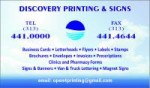 Discovery Printing and Signs