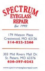 Spectrum Eyeglass Repair